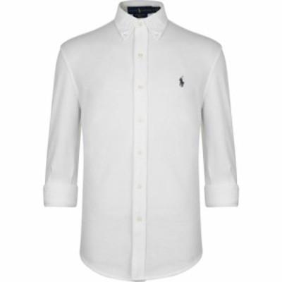 ラルフ ローレン Polo Ralph Lauren メンズ シャツ トップス Pique Shirt White