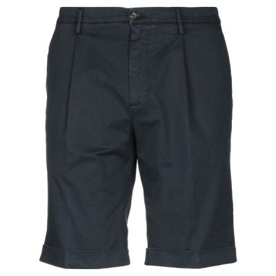 MICHAEL COAL ショートパンツ&バミューダパンツ ファッション  メンズファッション  ボトムス、パンツ  ショート、ハーフパンツ ダークブルー