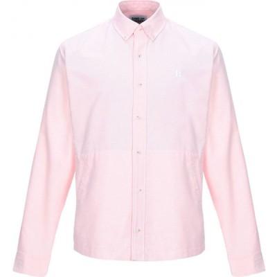 バンドオブアウトサイダーズ BAND OF OUTSIDERS メンズ シャツ トップス Solid Color Shirt Pink