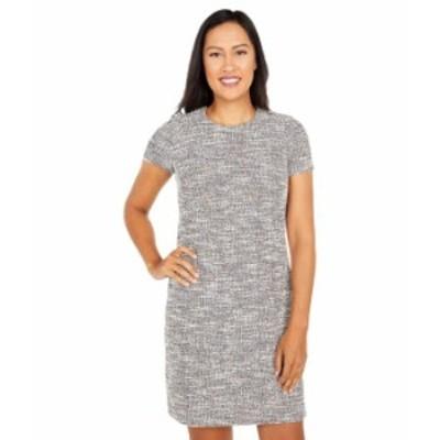 カルバンクライン レディース ワンピース トップス Printed Short Sleeve T-Shirt Dress Multi