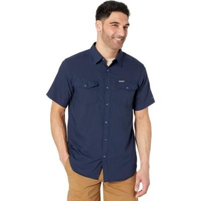 コロンビア Columbia メンズ 半袖シャツ トップス Utilizer II Solid Short Sleeve Shirt Collegiate Navy
