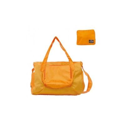 パッカブルボストンバッグ オレンジ 83885    キャンセル返品不可