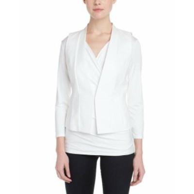 max マックス ファッション 衣類 Max Mara Womens Sportmax Ocra Vest 46 White