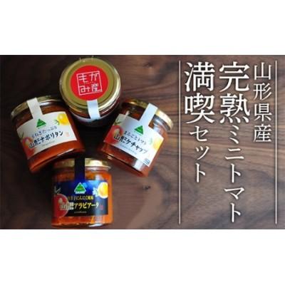 F013-001 山形県産完熟ミニトマト満喫セット