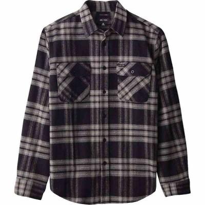 ブリクストン Brixton メンズ シャツ フランネルシャツ トップス Bowery L/S X Flannel Shirt Black/Charcoal