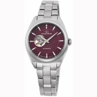 オリエント RK-ND0102R(ボルドー) コンテンポラリー 自動巻き(手巻き付き) 腕時計(レディース)