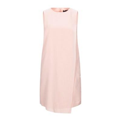 トラサルディ ジーンズ TRUSSARDI JEANS ミニワンピース&ドレス ローズピンク 44 ポリエステル 100% ミニワンピース&ドレス
