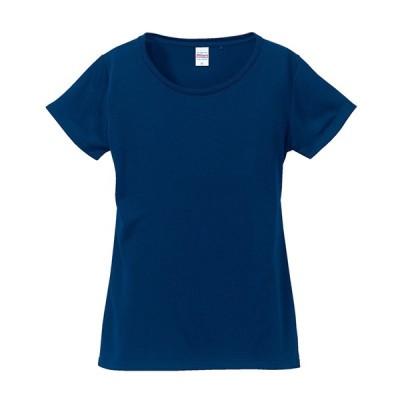 Tシャツ レディース 半袖 丸首 Xライン 4.7オンス 無地 クルーネック