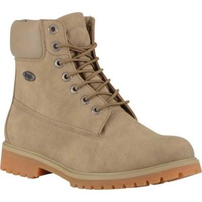 """ラグズ ブーツ&レインブーツ シューズ メンズ Convoy Water Resistant 6"""" Work Boot (Men's) Wet Sand/Gum Synthetic Suede"""