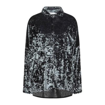 CA' VAGAN シャツ 鉛色 S レーヨン 70% / ポリエステル 30% シャツ
