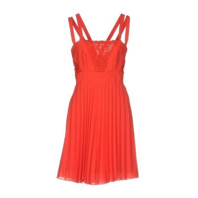 HEFTY ミニワンピース&ドレス レッド 42 ポリエステル 100% ミニワンピース&ドレス