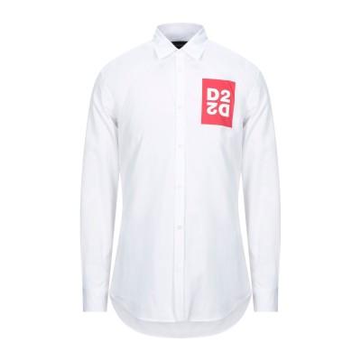 ディースクエアード DSQUARED2 シャツ ホワイト 46 コットン 100% シャツ