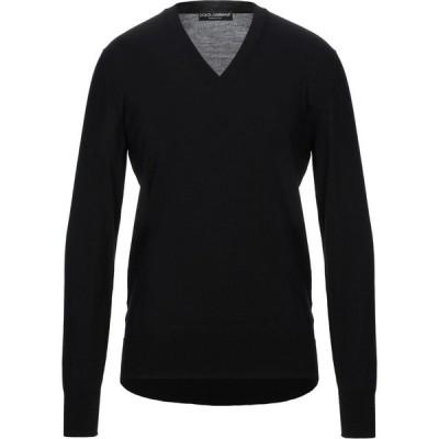 ドルチェ&ガッバーナ DOLCE & GABBANA メンズ ニット・セーター トップス Sweater Black