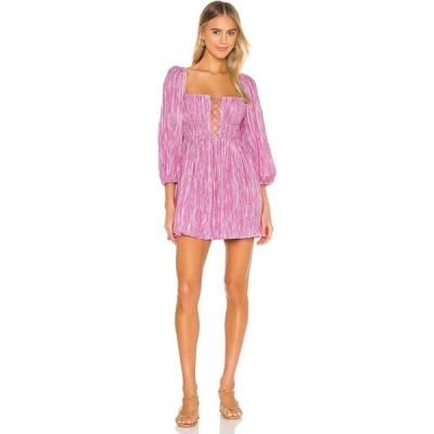 ラヴァーズフレンズ Lovers + Friends レディース ワンピース ミニ丈 ワンピース・ドレス Take Me Out Mini Dress Petal Pink