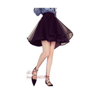 レディース スカートフェミニン skirt ミニスカート チュチュ ミディアム ひざ バレエ 着痩せ 丈 Aライン ファッション