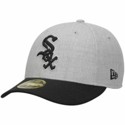 New Era ニュー エラ スポーツ用品  New Era Chicago White Sox Gray/Black Change Up Low Profile 59FIFTY Structured Hat