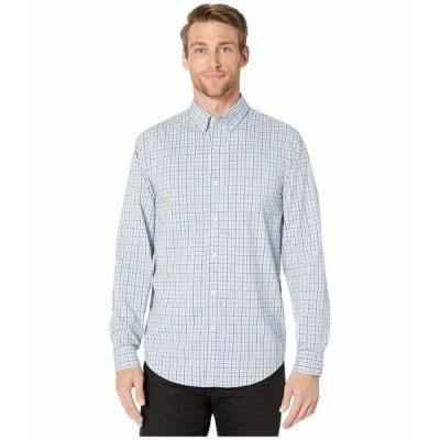 ドッカーズ シャツ トップス メンズ Long Sleeve Signature Comfort Flex Shirt Carrasco Light Blue Plaid