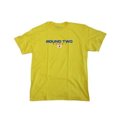 ラウンドツー メンズ Tシャツ スポーツ 日本 ジャパン 黄 ROUND TWO ROUND TWO SPORT S/S T-SHIRTS JAPAN