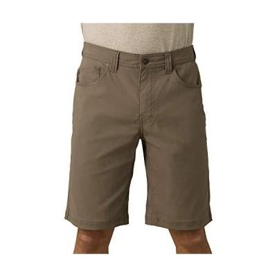 prAna Men's Brion Shorts, Mud, 28W 11L