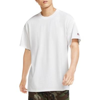 ナイキ Nike SB メンズ Tシャツ トップス essential short sleeve t-shirt White