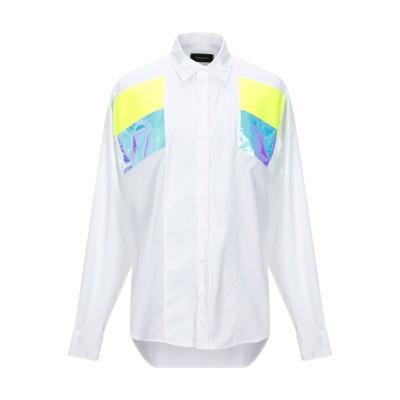 ディースクエアード DSQUARED2 シャツ ホワイト 52 コットン 100% / ポリエステル シャツ