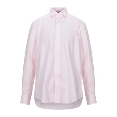 DU4 シャツ ピンク 44 コットン 100% シャツ
