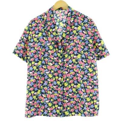 半袖 オープンカラー ポリシャツ レディースL /eaa063608