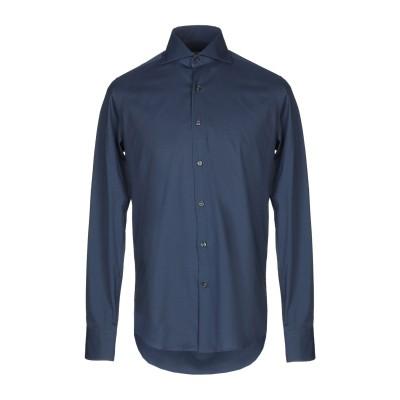 INGRAM シャツ ブルーグレー S コットン 97% / ポリウレタン 3% シャツ