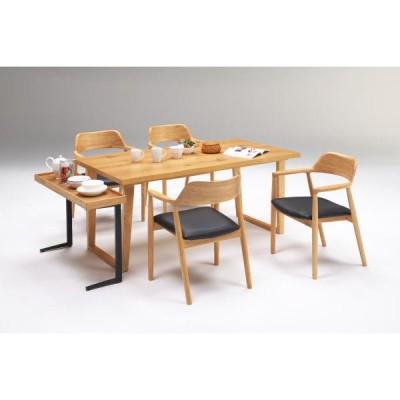ダイニングテーブルセット 4人用 ジュピター サイドテーブル