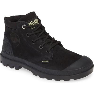 パラディウム PALLADIUM レディース ブーツ シューズ・靴 Pampa Bootie Black/Green Sheen