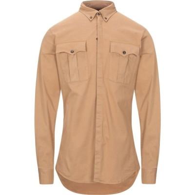 ディースクエアード DSQUARED2 メンズ シャツ トップス solid color shirt Brown
