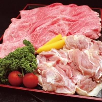 京丹波特選姫牛・地鶏すき焼きセット