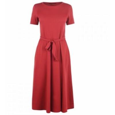 マックスマーラ Max Mara Weekend レディース ワンピース ワンピース・ドレス Alare Belted Dress BRICK RED