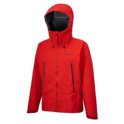 【マーモット】 エージャケット / A Jacket《GORE-TEX(防水透湿)/耐久はっ水/フルシームシーリング/止水ファスナー》 メンズ マーモットレッド S Marmot