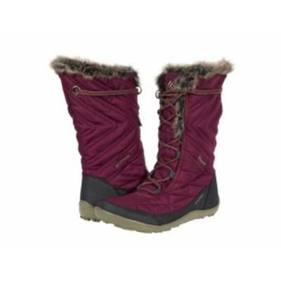 Columbia コロンビア レディース 女性用 シューズ 靴 ブーツ スノーブーツ Minx Mid III Currant/Sage【送料無料】