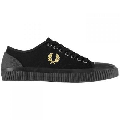 フレッドペリー Fred Perry メンズ シューズ・靴 Hughes Low Canvas Shoes Black Mlti