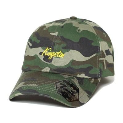 7UNION キャップ セブンユニオン Kingston Bent Brim Cap ボールキャップ 帽子 ウッドランドカモ 7UB-725