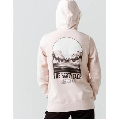 ザ ノースフェイス THE NORTH FACE レディース パーカー トップス Mountain Peace Zip Hoodie BLUSH