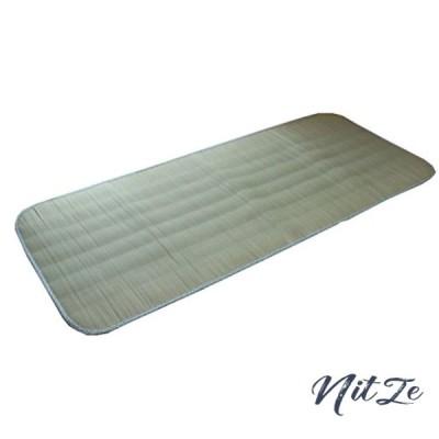 *イケヒコ い草 い草シーツ 敷きパッド セミシングル 寝具 国産 やわらか 『ラッセル 素肌草キルト』 約88*205cm (