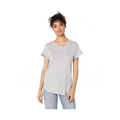 Splendid スプレンデッド レディース 女性用 ファッション Tシャツ Abbie Short Sleeve Modal Jersey Crew Tee - Heather Grey