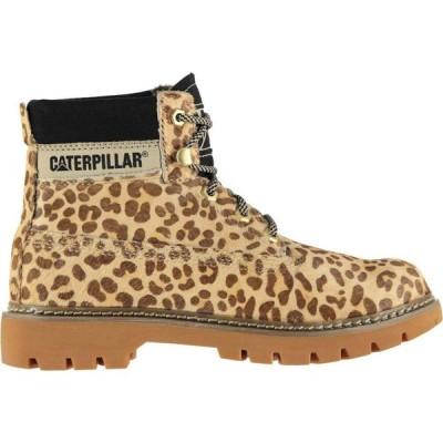 キャピタラー カジュアル Caterpillar レディース ブーツ シューズ・靴 Cheetah Lyric Boots Cheetah