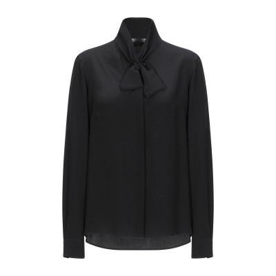 モスキーノ MOSCHINO シャツ ブラック 44 シルク 100% シャツ