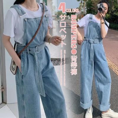 1FC936     デニムサロペット 女性2021春夏新型韓版はゆったりしていて年齢学生を減らして腰の広い足の長いズボンを収めますAX152