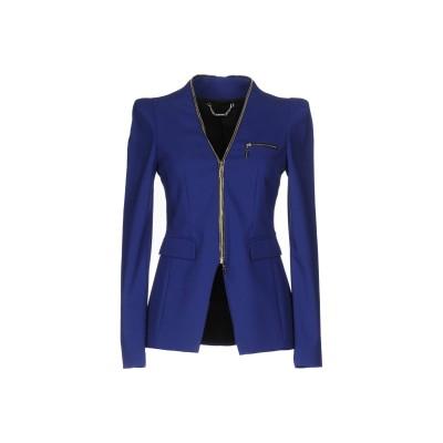 MANGANO テーラードジャケット ブルー 46 59% コットン 37% ナイロン 4% ポリウレタン テーラードジャケット