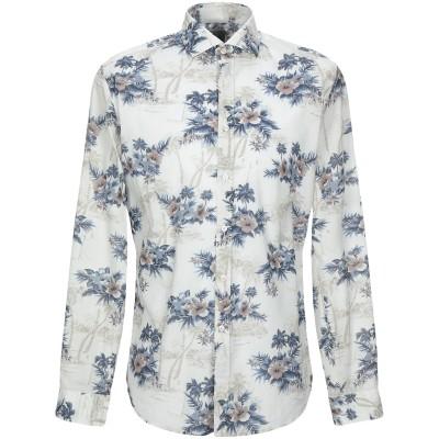 XACUS シャツ ライトグレー L コットン 100% シャツ