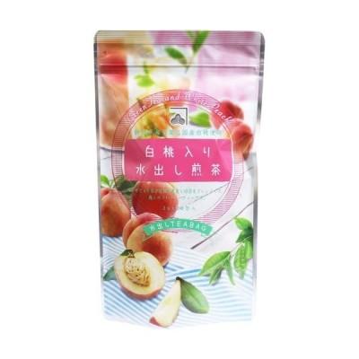 白桃入り水出し煎茶 水出しティーバッグ ( 3g*20包入 )
