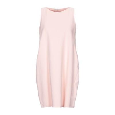 BLUKEY ミニワンピース&ドレス ピンク 42 コットン 95% / ポリウレタン 5% ミニワンピース&ドレス