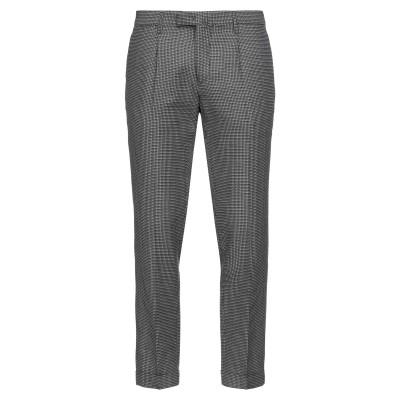 BRIGLIA 1949 パンツ ブラック 48 バージンウール 36% / アクリル 35% / コットン 29% パンツ