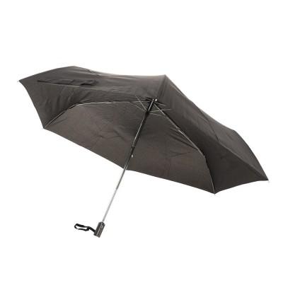 CRUX雑貨55cm フラット自動開閉折畳傘 BK CR 431617ブラック