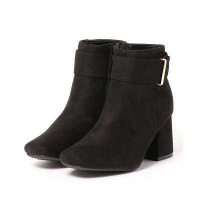 Mafmof / Realta(レアルタ) スクエアトゥ飾り付きショートブーツ WOMEN シューズ > ブーツ